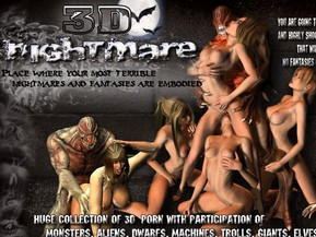 Huge collection of 3d porn with participation of monsters,aliens,machines,trolls,giants,elves and others