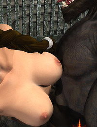 Deliciously sexy bitch with pretty boobs cried and pleaded when suffers deep ass plundered by a few monster's dicks