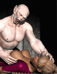 Booby nubile human bitch enjoys hardcore monster fucking and dirty hot creampie