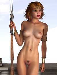 Nasty elfin bitches posing nude in anticipation of hardcore monster fuck � best 3d evil porn